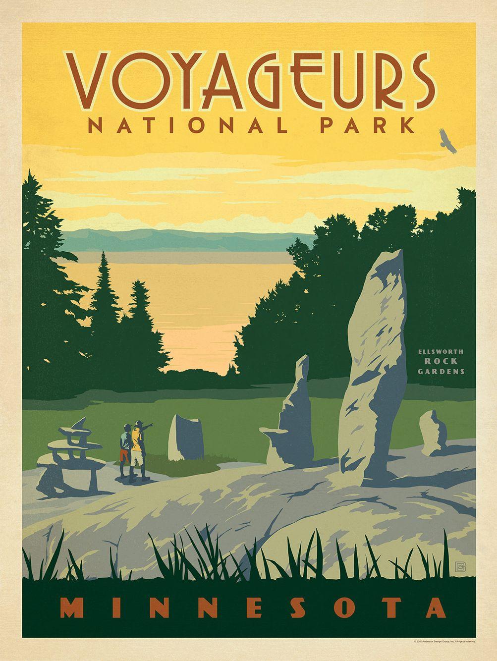 National Park Vintage Poster Vintage National Park Posters National Park Posters American National Parks