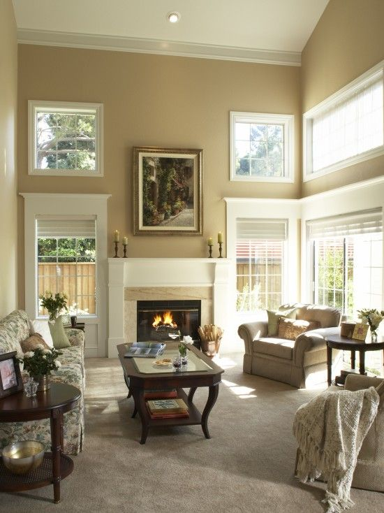 Elegant Best Paint Colors for Living Room with High Ceilings