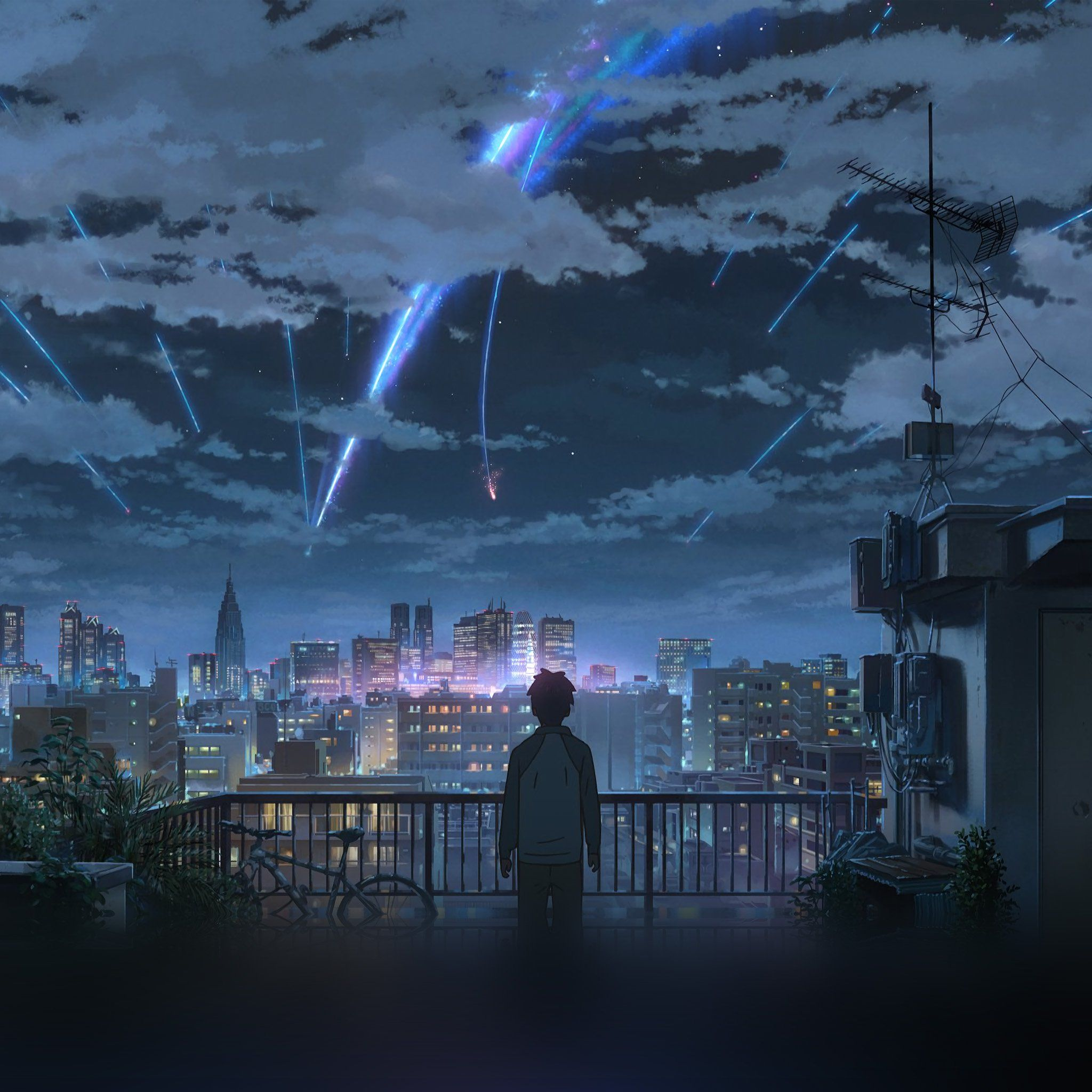 人気53位 君の名は 君の名は アニメの風景 風景