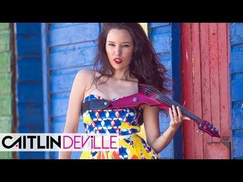 Me Enamoré (Shakira) - Electric Violin Cover | Caitlin De