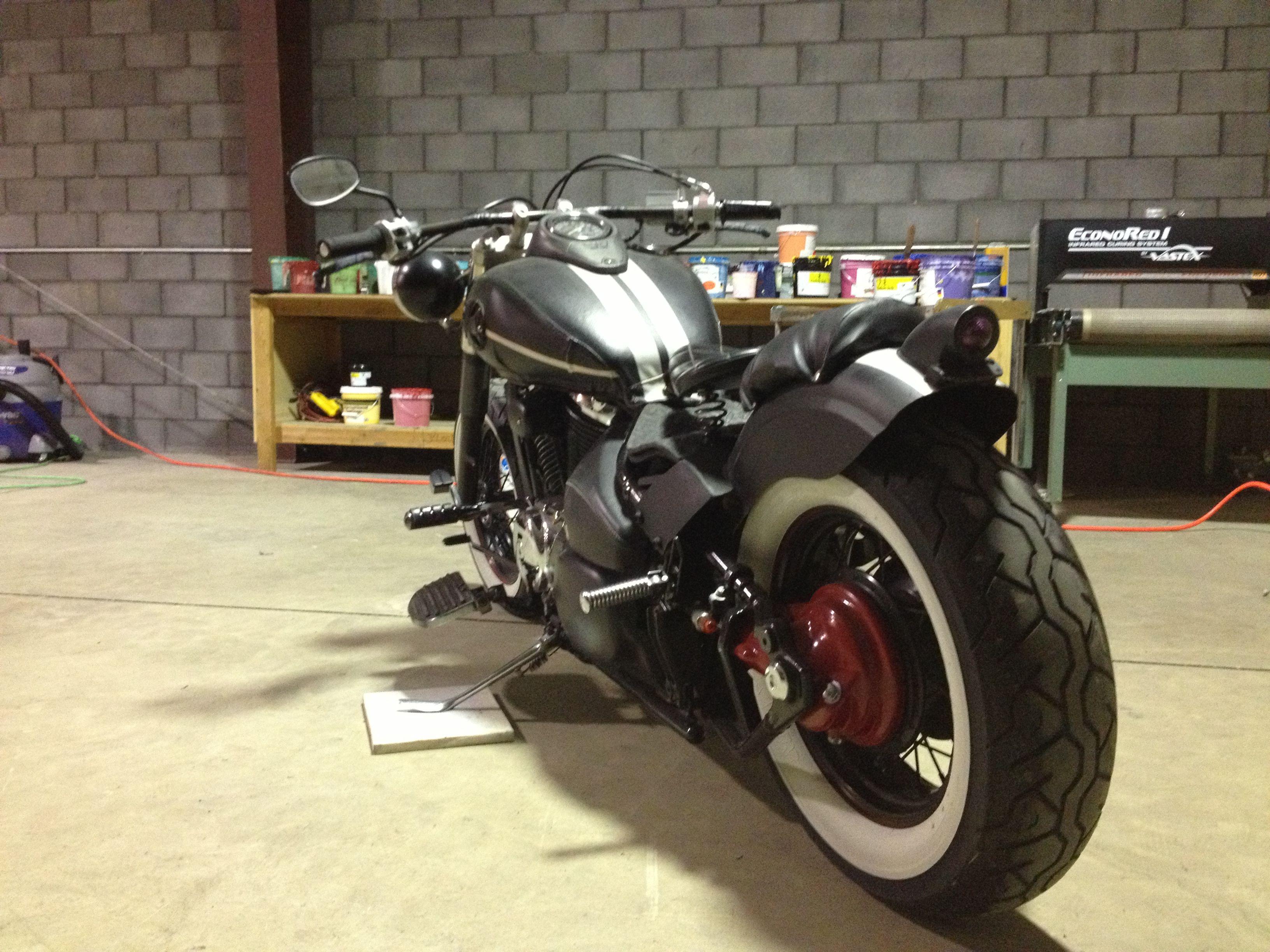 Bobber Rat Bike Suzuki #motorcyle