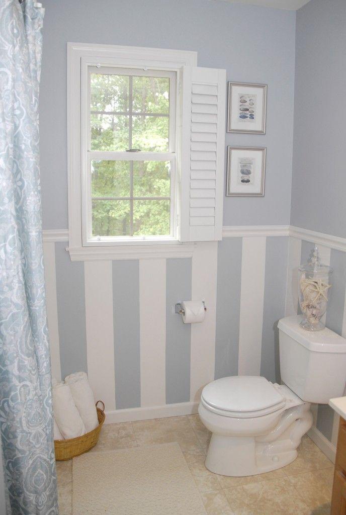 Photo of $88 bathroom makeover (plus a drool-worthy DIY window treatment) | Living Rich o…