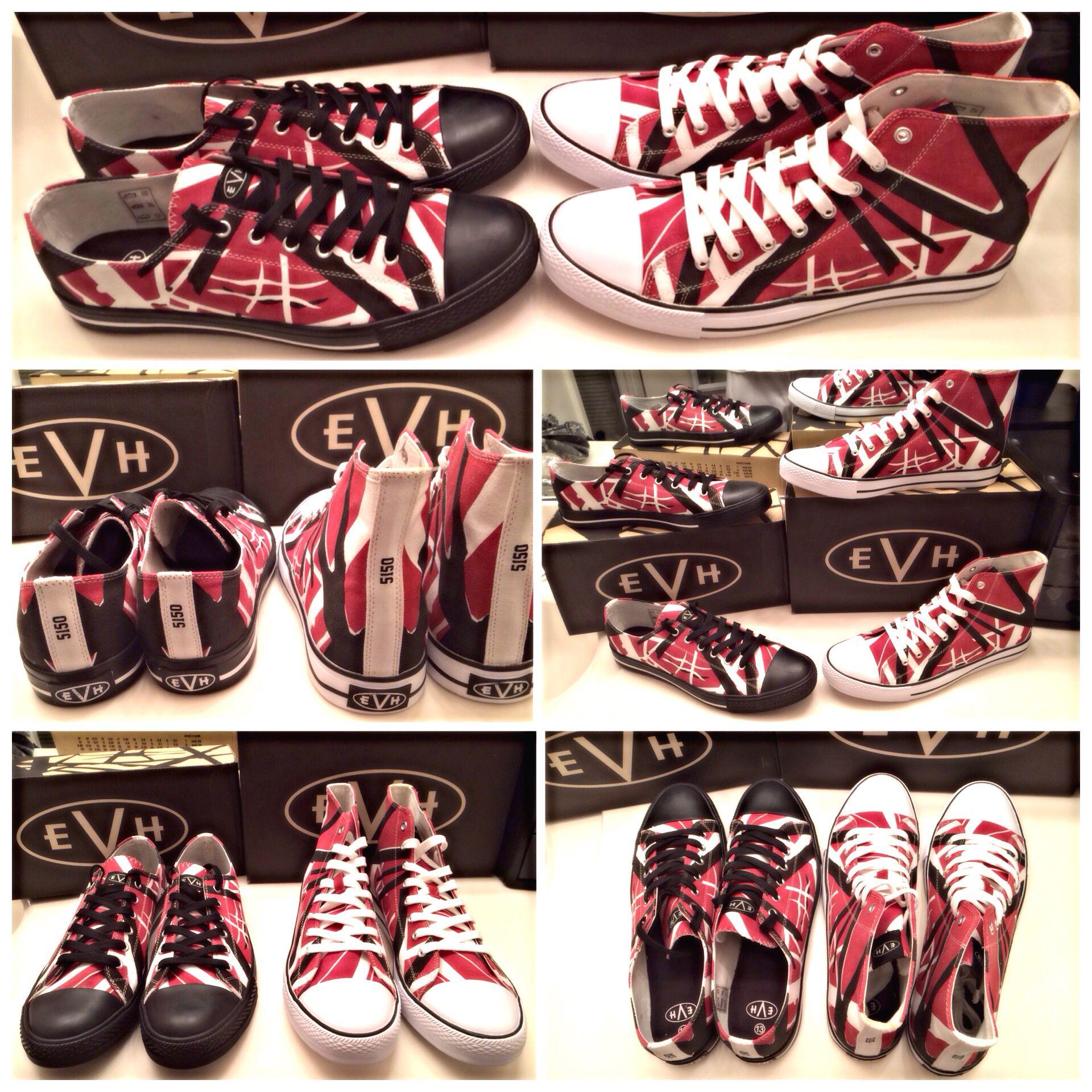 My New Eddie Van Halen Kicks Vanhalen Evh Eddievanhalen Evhgear Stripes Frankenstrat Van Halen Vans Old Skool Sneaker Eddie Van Halen