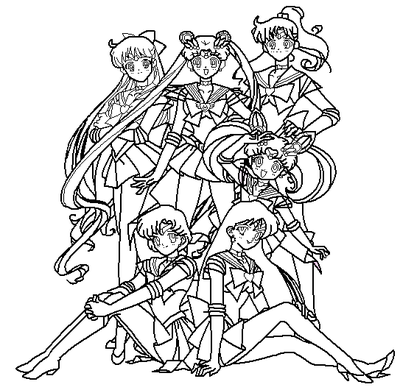 sailor moon and friends coloring pages image of sailor moon and friends coloring pages pictures on sailor moon and friends coloring pages