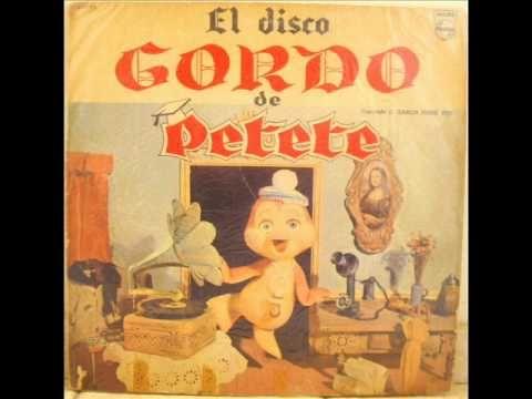 El Disco Gordo De Petete La Canción Del Libro Gordo 1974 Series De Los 80 Canciones Caras