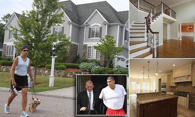 1 5m Home Of Convicted Former Nfl Player Aaron Hernandez For Sale