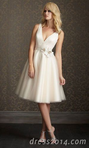 wedding dress short wedding dresses 2014 | Projects to Try ...