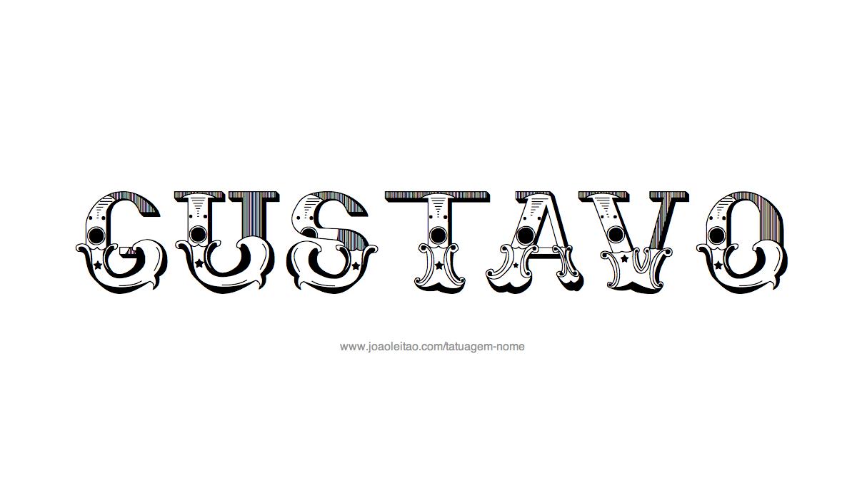 Desenhos de tatuagem com o nome gustavo pinterest desenho tatuagem com o nome gustavo altavistaventures Image collections