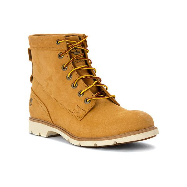 Womens Bramhall LaceUp Waterproof Boot Wheat Nubuck by Timberland