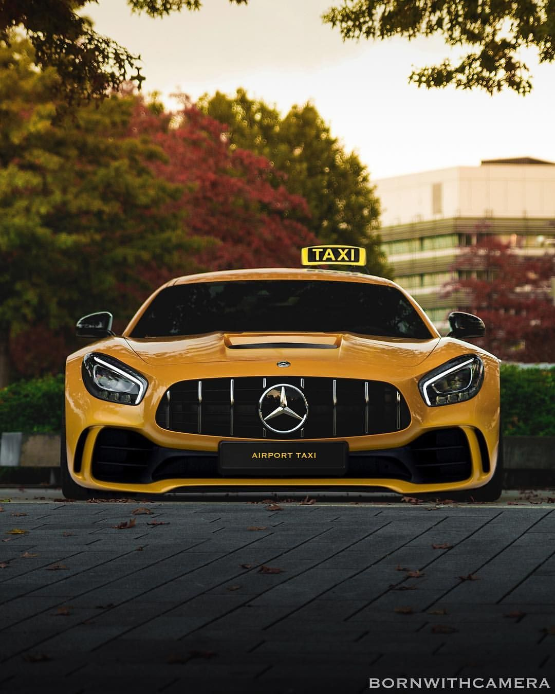 Would You Work As A Taxi Driver If You Were Given This Modified Gtr Super Cars Mercedes Car Mercedes Benz Cars