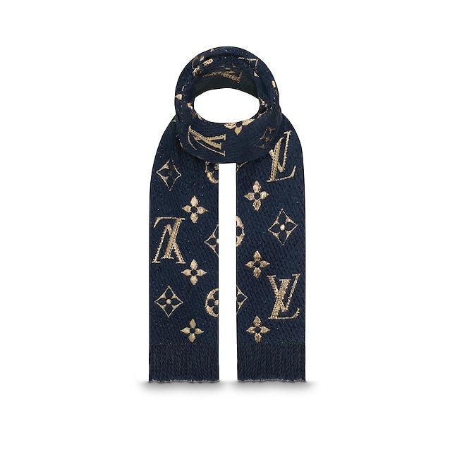 73d4f244dc07 Vue 2 - Logomania Shine Scarf Femme Accessoires Écharpes et foulards   LOUIS  VUITTON