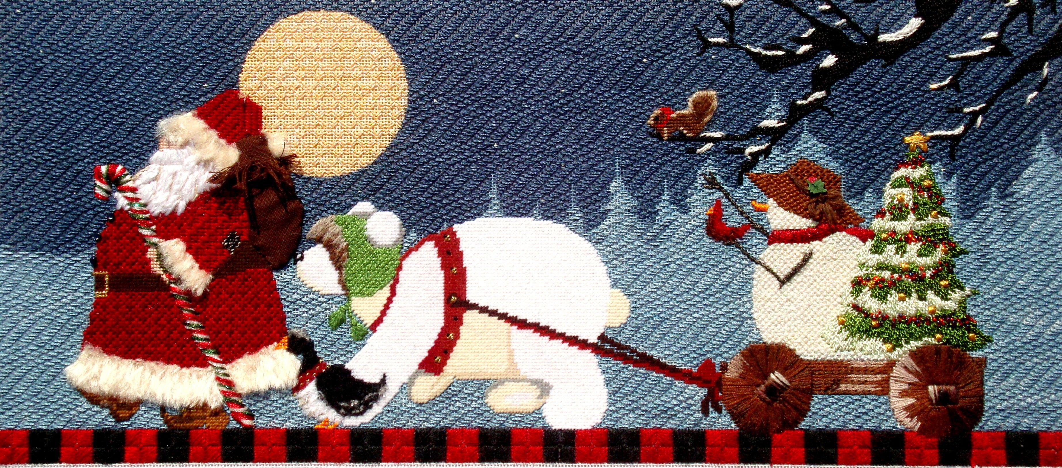 Michele Herron shares needlepoint tips and techniques from her current needlepoint projects. : tapestry tent needlepoint christmas stockings - memphite.com