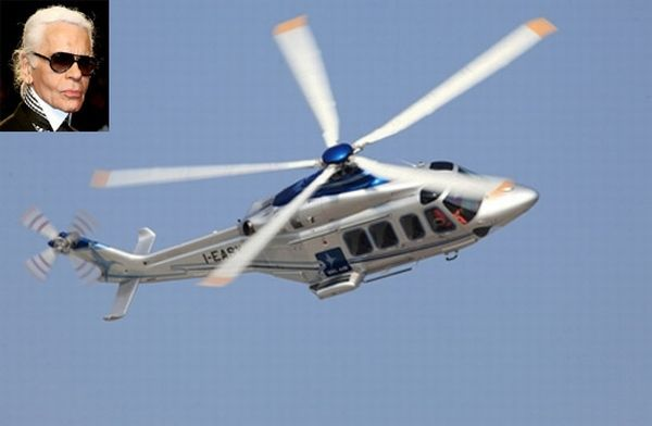 Luxury Vip Helicopters From Karl Lagerfeld