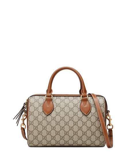99f42f155ca Gucci GG Supreme Small Top-Handle Bag