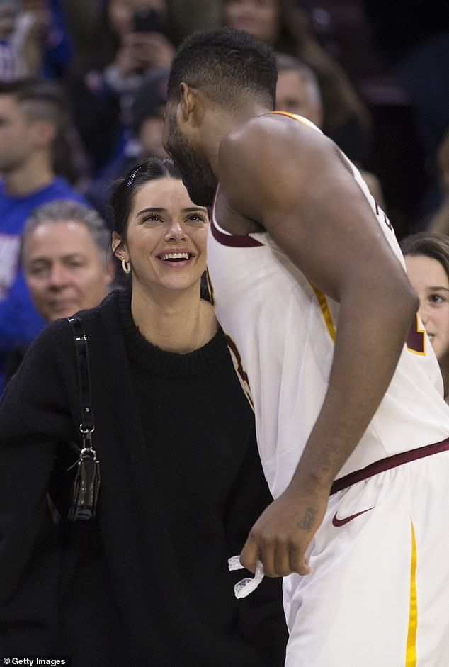 Kendall Jenner throws her support behind Tristan Thompson at