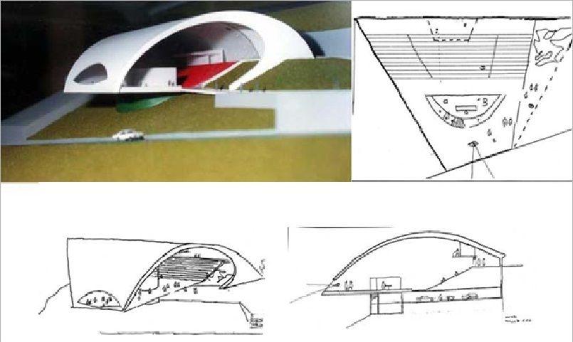 Auditorio Ravello Arq. Oscar Niemeyer   neomodern   Oscar ...