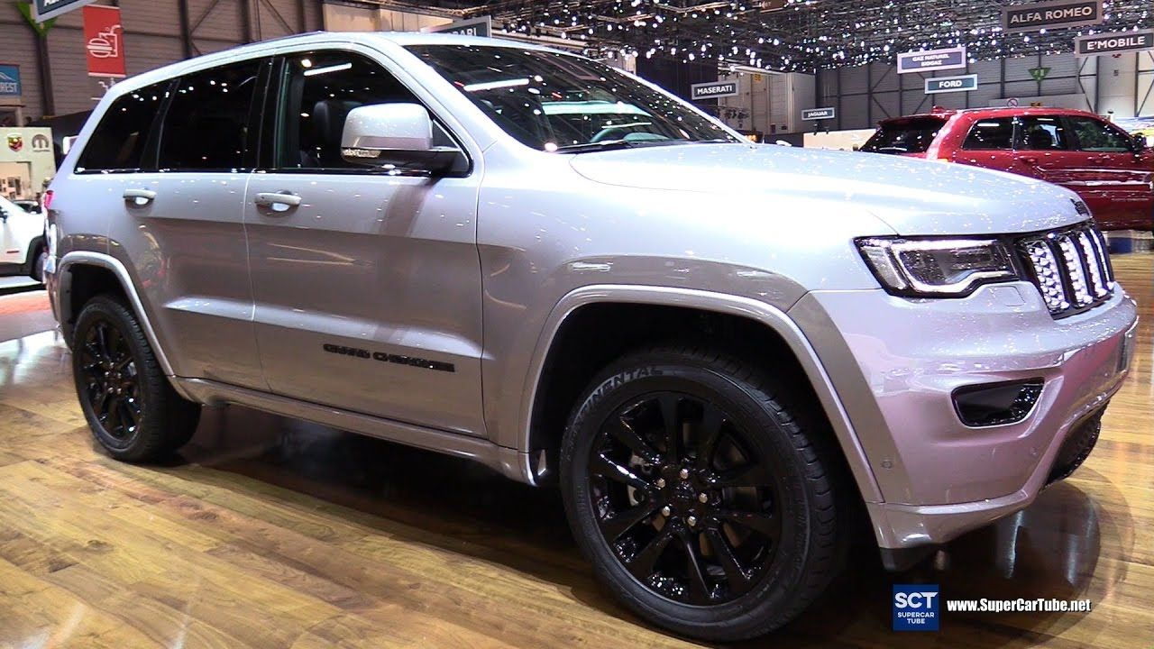 2017 Jeep Grand Cherokee Night Eagle Exterior And Interior
