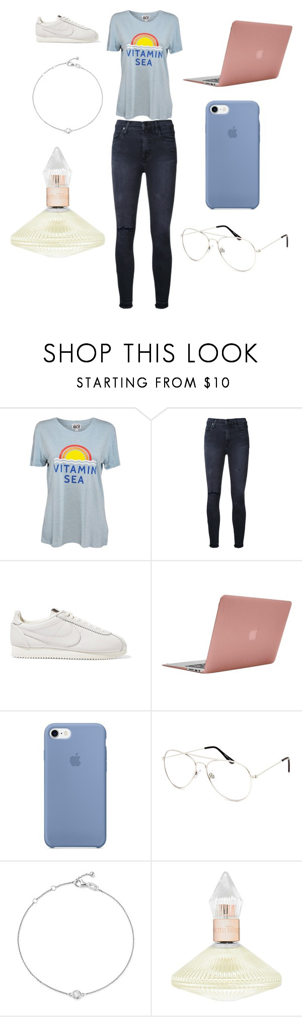 """""""Sans titre #6295"""" by merveille67120 ❤ liked on Polyvore featuring Sub_Urban Riot, Nobody Denim, NIKE, Incase, Blue Crown, Bloomingdale's and Charlotte Tilbury"""