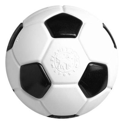 Planet Dog Black/White Orbee-Tuff Soccer Ball