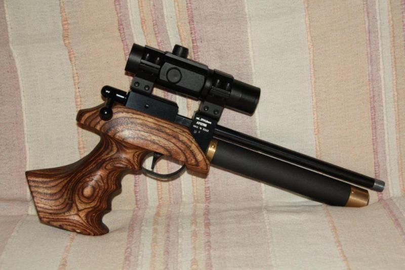 CZ200 Pistol Conversion   pcp air rifle   Air rifle, Hand