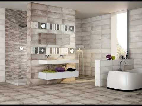 116 Bathroom Wall And Floor Tiles Design Ideas 2017  Youtube Pleasing Best Tiles Design For Living Room Decorating Design