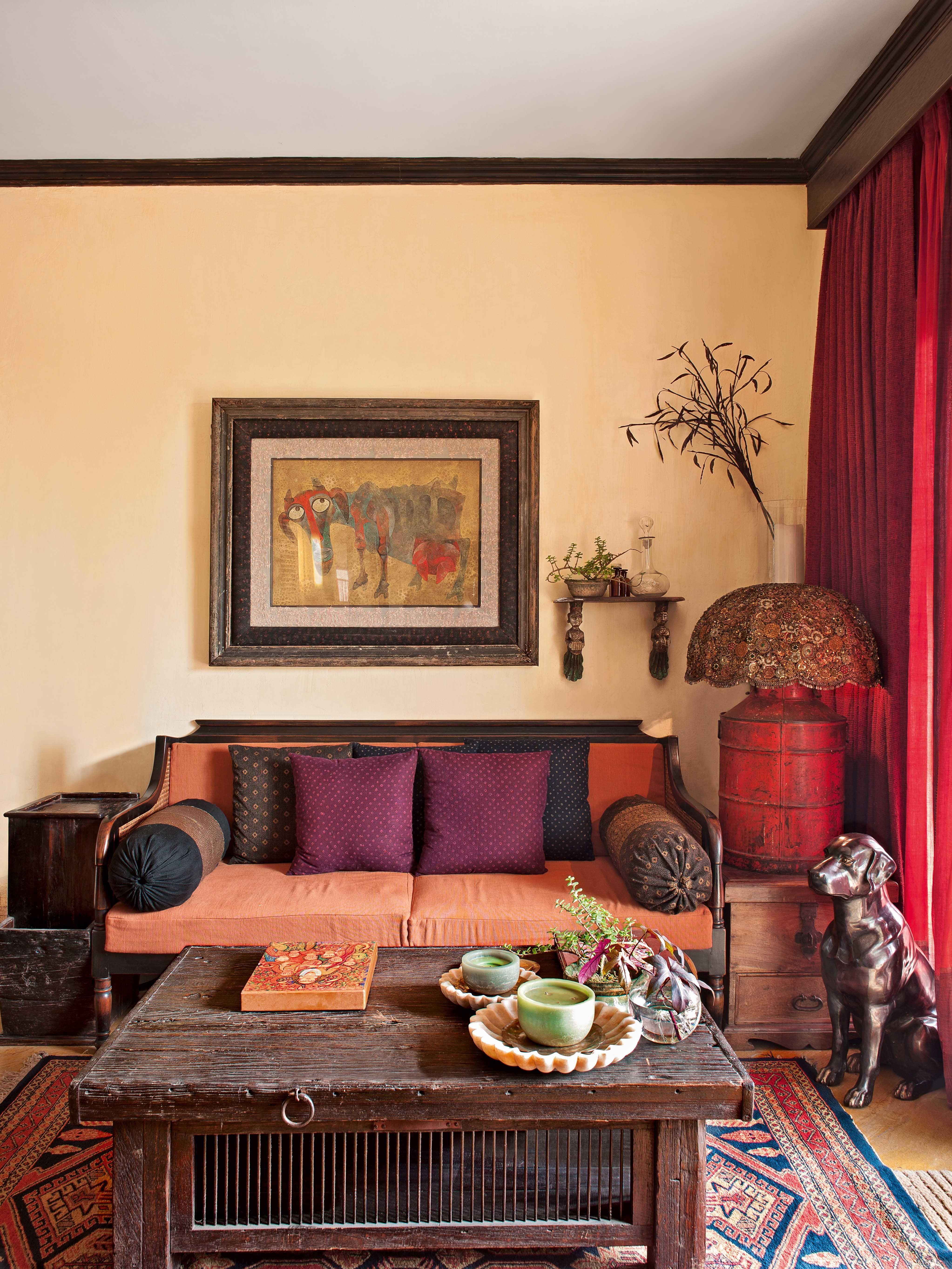 Uniquely indian and charming designer sabyasachi mukherjeeus home
