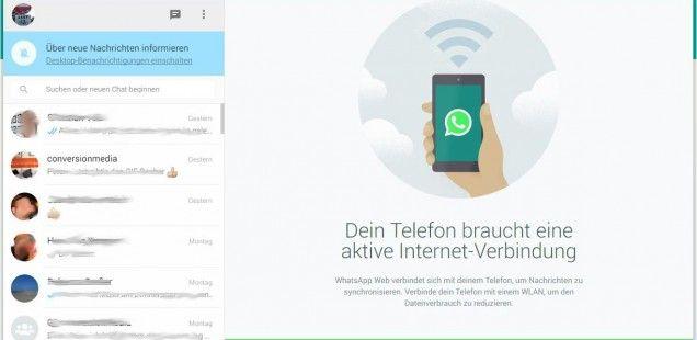 WhatsApp Web Eine Anleitung, wie ihr die Desktop Version nutzen könnt.