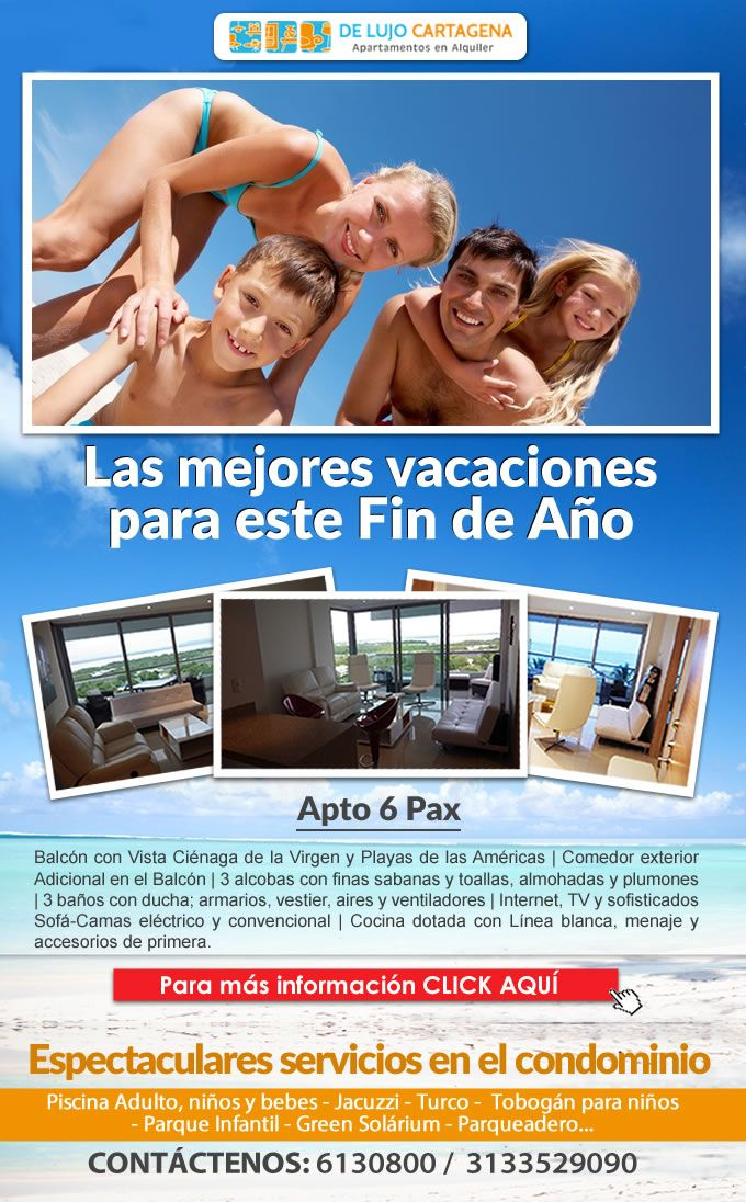 #Novoclick Está Con #DeLujoCartagena #Vacaciones En