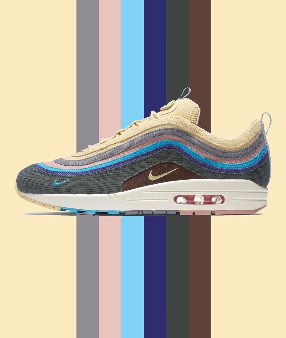 adca2e2b72490 Sean Wotherspoon x Nike Air Max 1 97