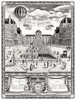 Exposition - Art contemporain - JR au Louvre   Musée du Louvre   Paris 25 mai - 27 juin 2016
