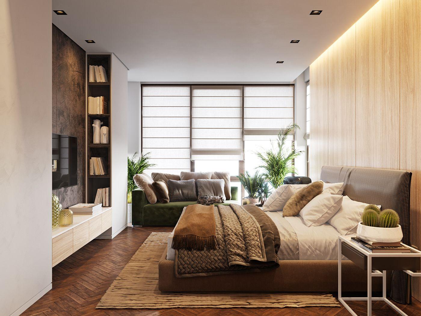 Bedroom Design Online Bedroom  April 2017 On Behance  Modern Beds  Pinterest