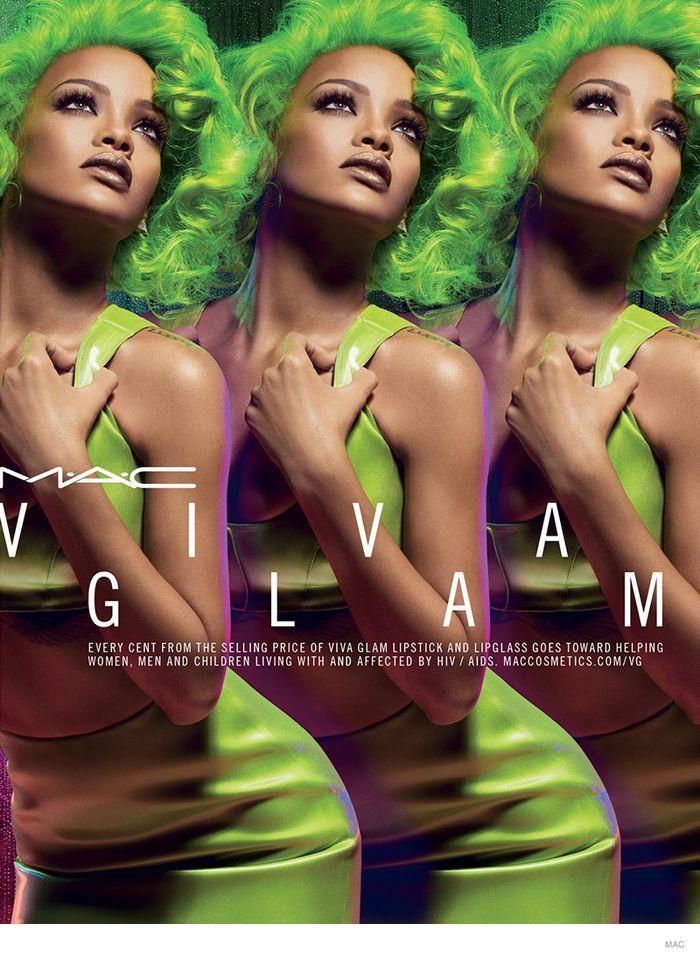 Rihanna MAC Campaign 2014 | in Ad Campaigns