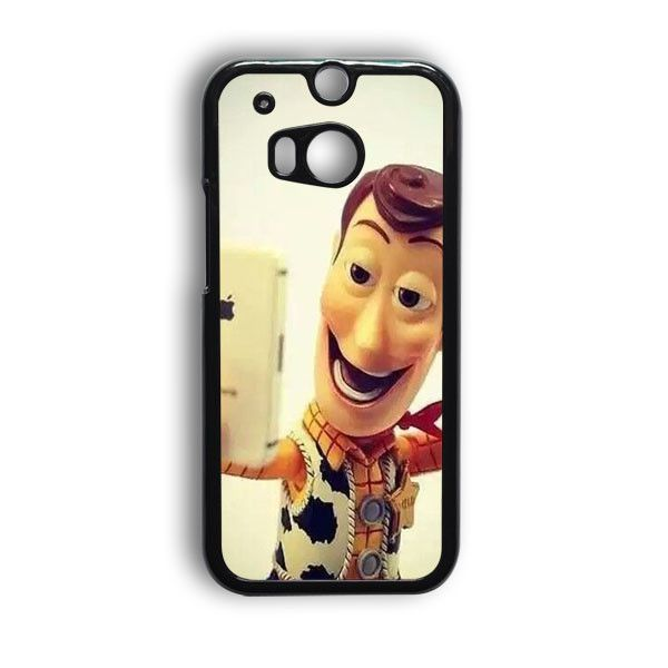Woody Selfie HTC One M8 Case