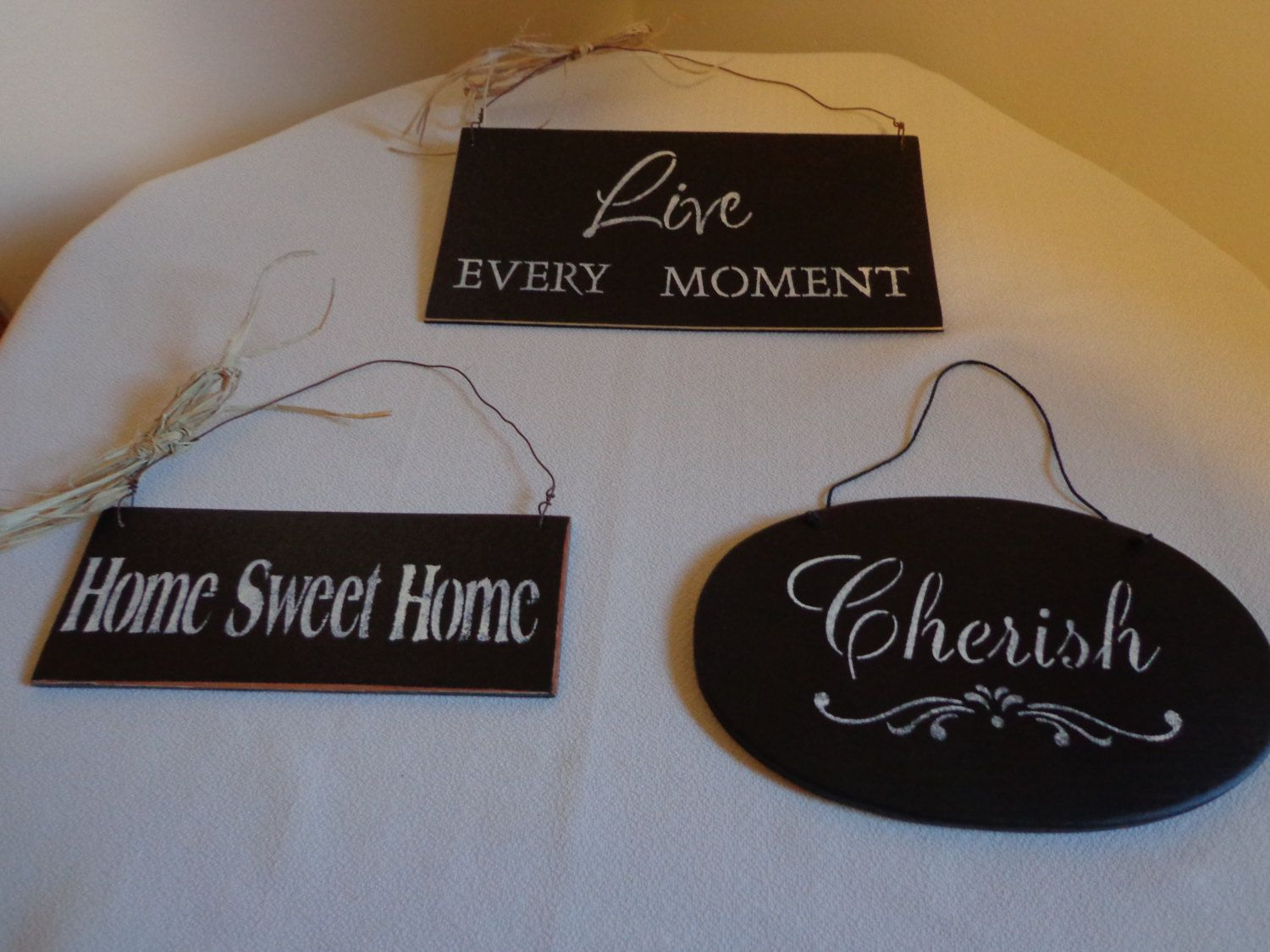 Handcrafted Wood Wall Signs by thingsbybrinda on Etsy