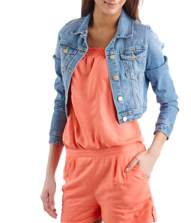 veste courte femme orange les vestes la mode sont populaires partout dans le monde. Black Bedroom Furniture Sets. Home Design Ideas