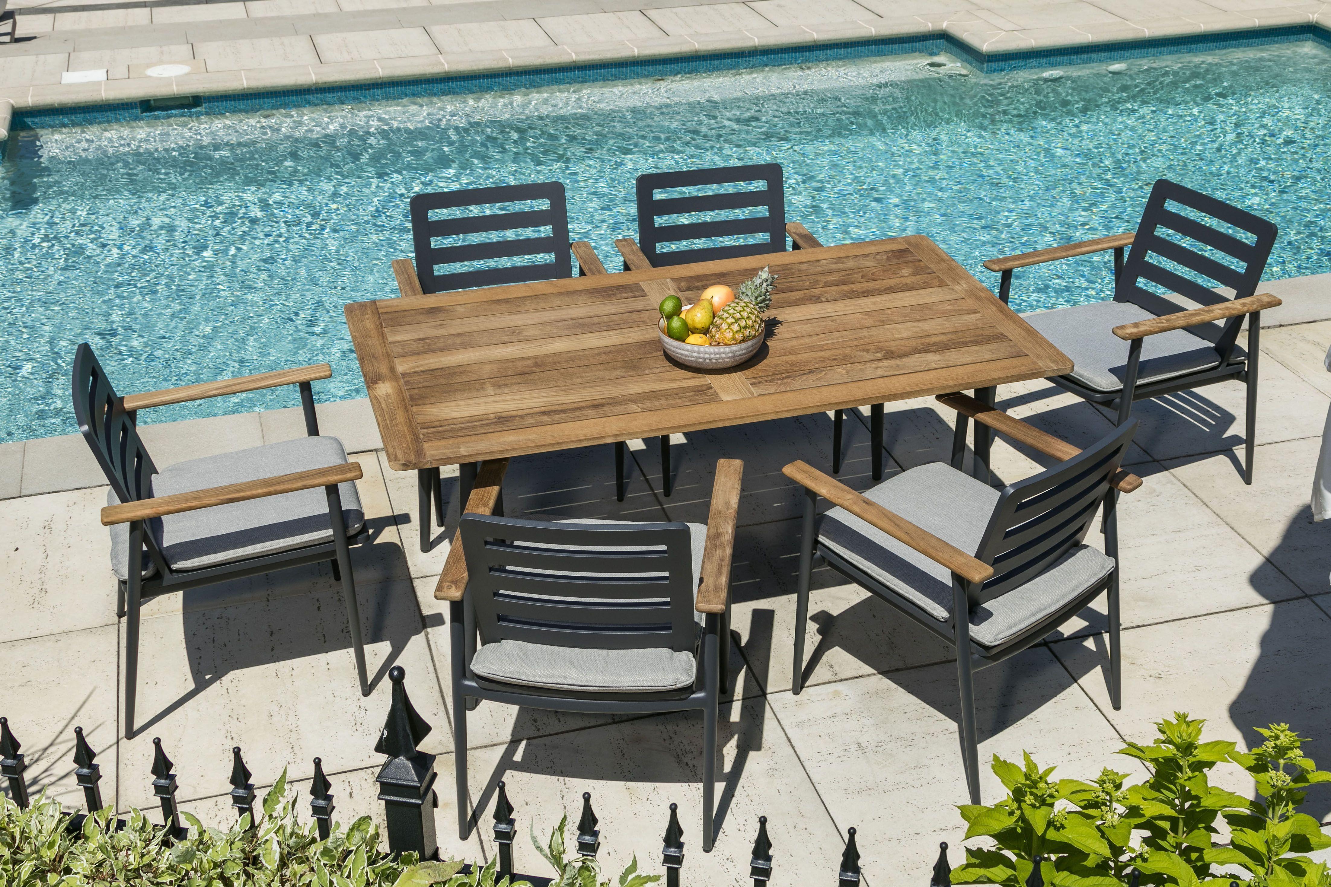 Ensemble A Diner Exterieur Amsterdam Outdoor Dining Set Outdoor Furniture Sets Backyard Design Outdoor Decor