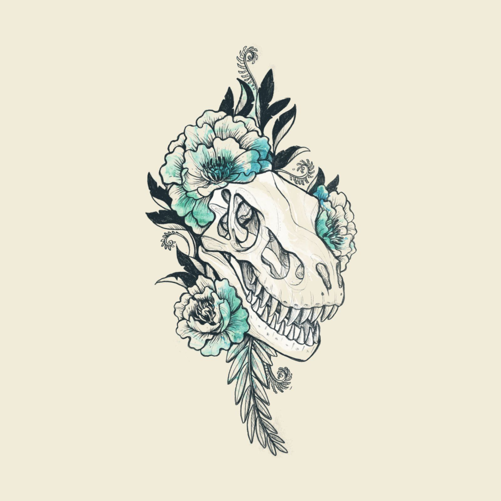 Dino Tattoo   designosaur's Artist Shop