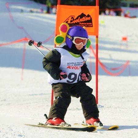 #Sci #Bambini #AEvolutionSkiSchool #SkiareaCampiglio #Folgarida