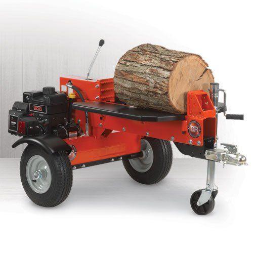 15 Ton B Manual Start Dual Action Log Splitter Yard
