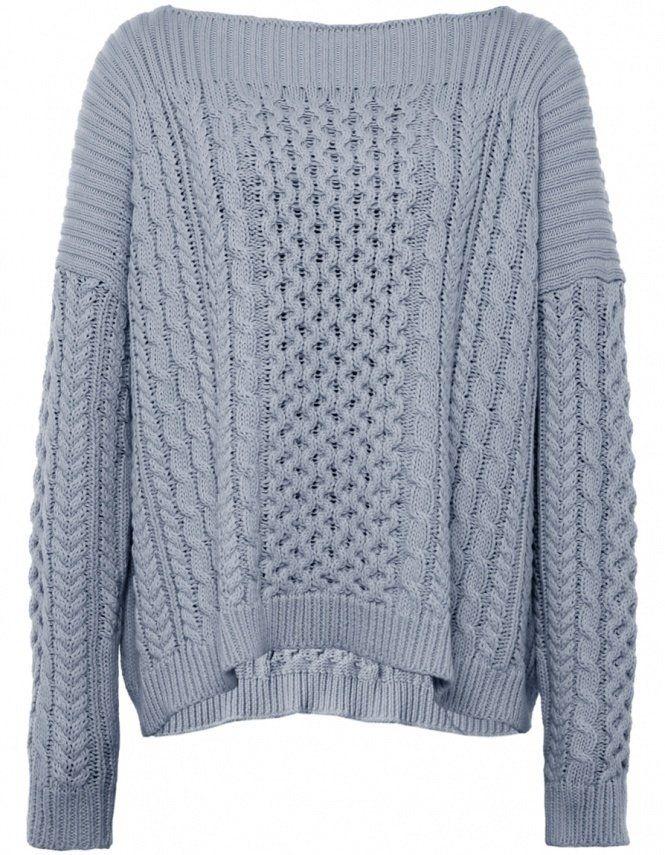 Light Grey Geraldine Sweater