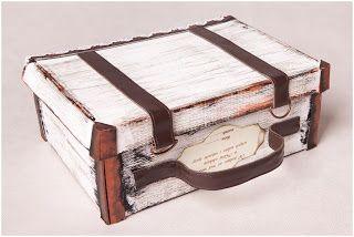 Ania Inspiruje Kurs Prezent Dla Nauczyciela Shoe Box Crafts Diy Suitcase Shoe Box Diy
