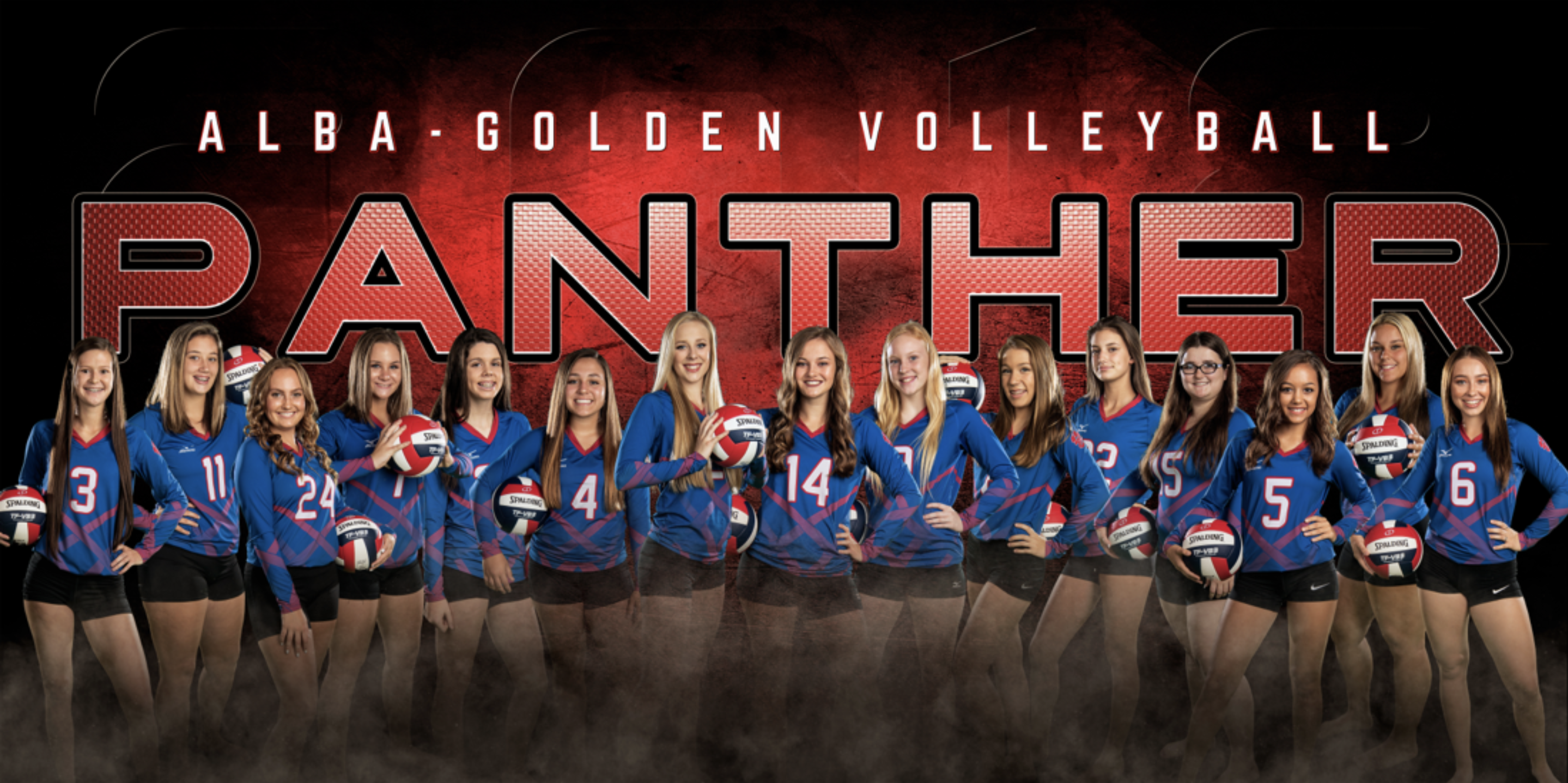Ag Volleyball Team Sport Banner Volleyball Team Photography Company