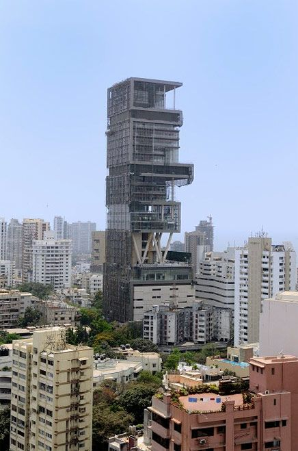 Billion Home Is Complete In Mumbai Expensive Houses Amazing Buildings Skyscraper