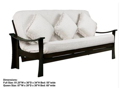 Full Size Zen Futon Bed Package By Lifestyle Solutions