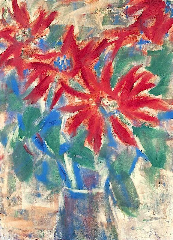 Christian Rohlfs (1849-1938) was een Duitse schilder van het expressionisme. In 1864 viel de vijftienjarige uit een boom en liep een ernstige beenkwetsuur op. De behandelende arts, gaf hem teken- en schildermateriaal tegen de verveling en merkte al snel het talent van de jongen op. In 1871 kreeg hij zoveel last van zijn been dat hij zijn studie moest staken en in 1873 werd het geamputeerd; in het volgende jaar pakte hij zijn studie weer op.