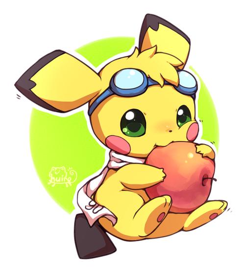 pikachuized Pikachu, Pikachu art, Pokemon