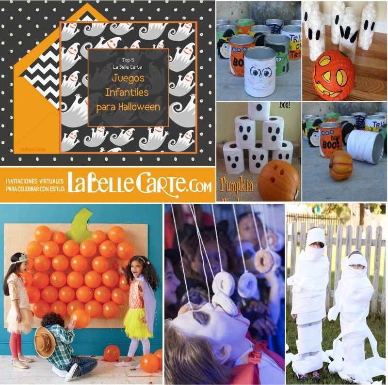 Top 5 ideas para fiestas juegos infantiles para halloween - Ideas fiesta halloween ...