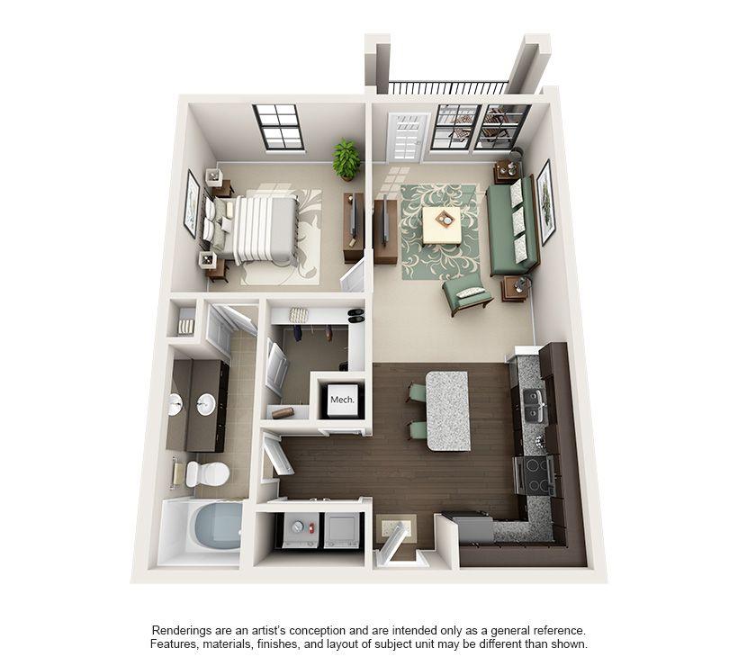 Luxury 1, 2, And 3 Bedroom Apartments In Birmingham, AL