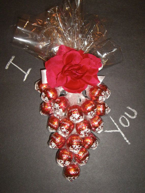 Valentine's Day Chocolate Candy bouquet  Shapped by DesignsByCris, $40.00