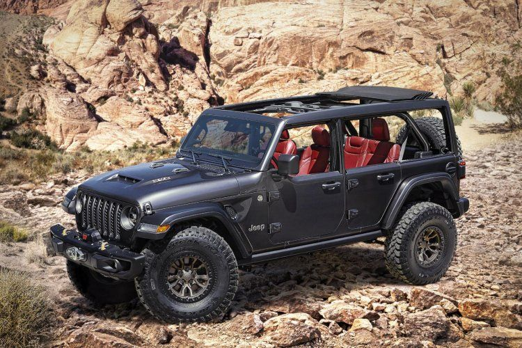 Jeep Wrangler Rubicon 392 Concept Showcased Gets A 450bhp V8 Hemi